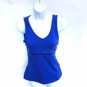 Everlast Small Racerback Gym Top Blue Sports Bra